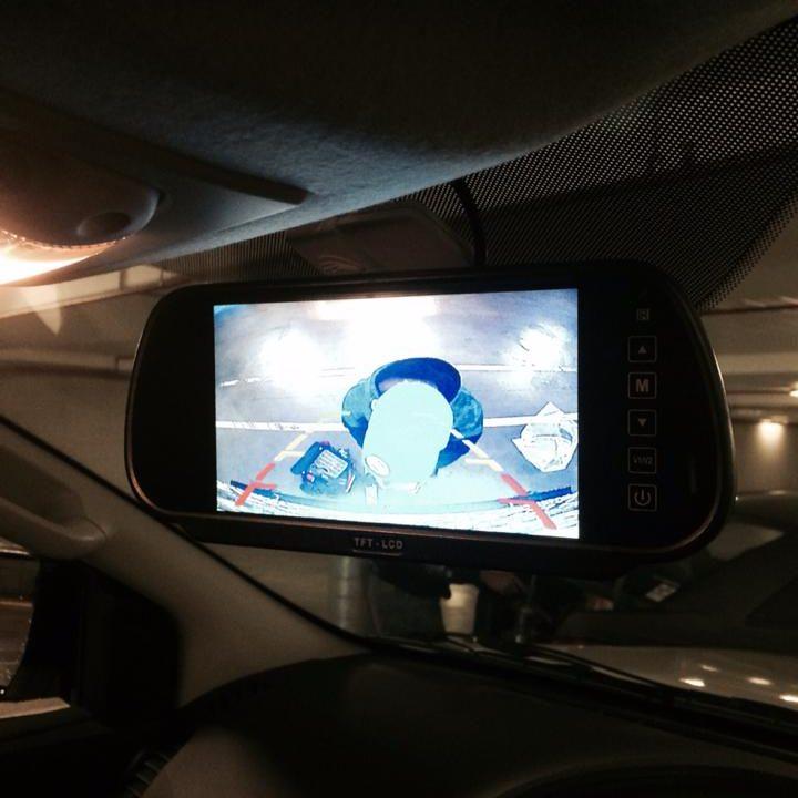 Trade Trailor Reverse Camera monitor Installations