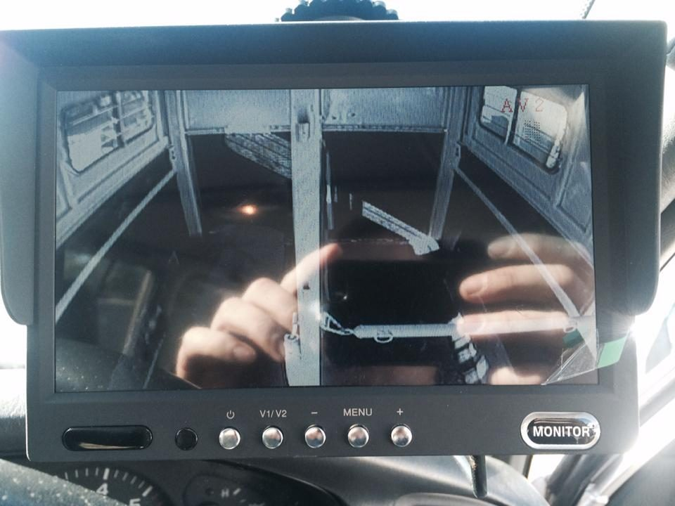 Horse Float Reverse Camera monitor Installations