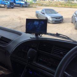 Truck & Heavy Machinery reversing camera monitor Installations