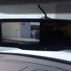 reversing camera monitor installation