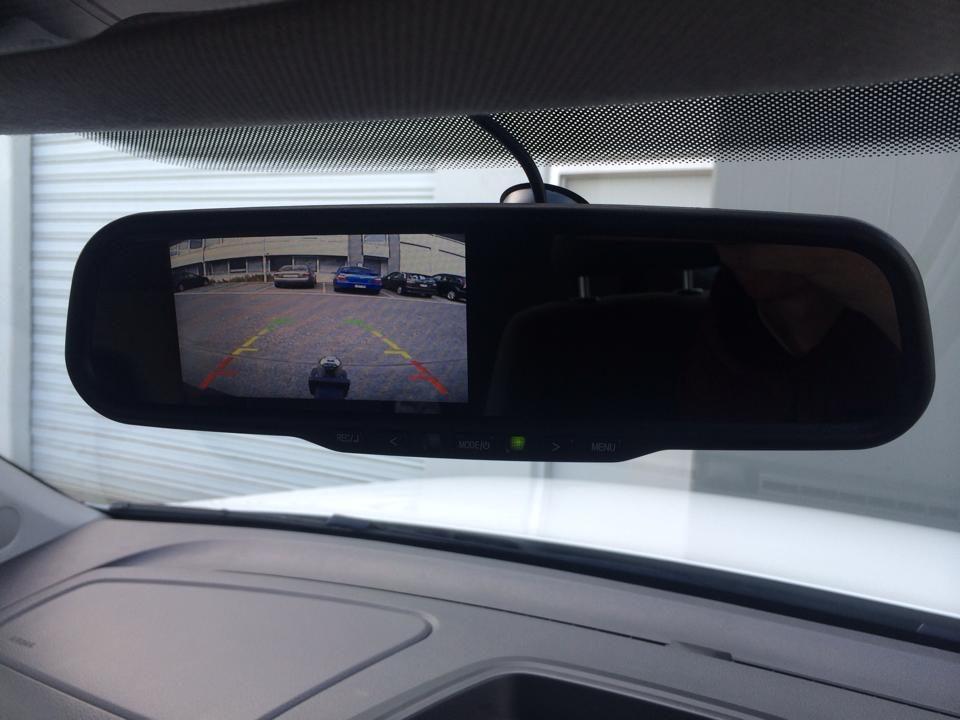 reversing camera monitor