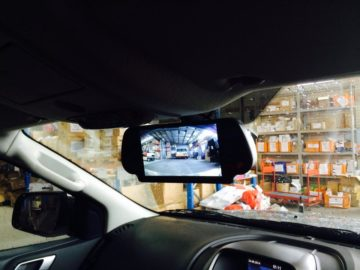 4WD Reversing Camera monitor Installations