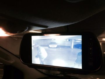 Trade Trailor Reverse Camera monitor Installations