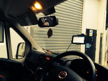 Fleet Vehicle Reverse Camera monitor Installations