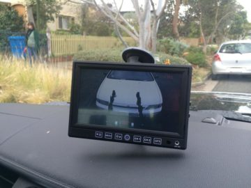 Caravan Reverse Camera monitor Installations