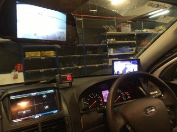 reverse cameras monitor