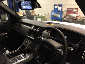 Trade Trailor Reversing Camera monitor Installations